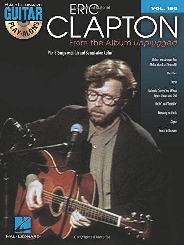 Eric clapton: from the album unplugged guitare+CD (Guitar Play Along)