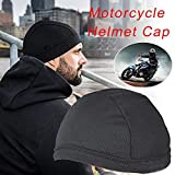 yummyfood Motorrad Helmmütze, Skull Cap Unterziehmütze Sports Bandana Cap Helmet Cap, Quick Dry,...