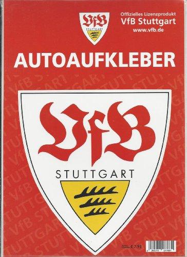 "Preisvergleich Produktbild AUTOAUFKLEBER STICKER AUFKLEBER "" Logo "" VFB STUTTGART groß NEU"