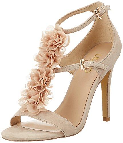 LIU JO SANDALO AIKO TC100 S17019 P0021 SOIA sandalo donna con tacco, Beige, EUR 38