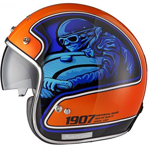 black-moto-racer-limited-edition-motorcycle-helmet-l-blue-orange