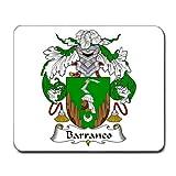 BARRANCO oder Barranca Familienwappen Wappen Maus Pad