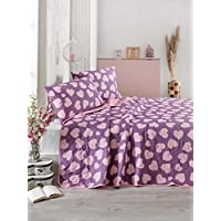 Eponj Home Single Quilted Bedspread Set - 160 x 220 cm