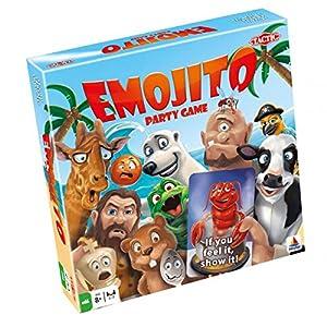 Tactic Emojito Niños y Adultos Party Board Game - Juego de Tablero (Party Board Game, Niños y Adultos, 20 min, Niño/niña, 7 año(s), 99 año(s))