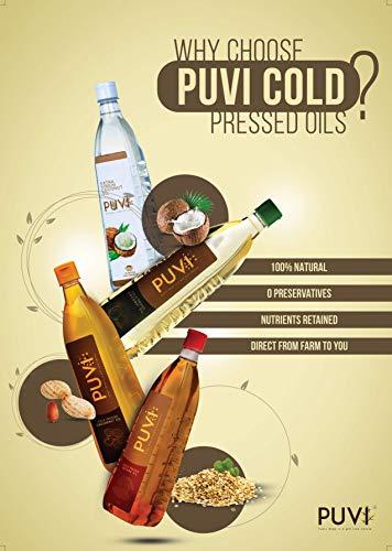 Puvi 0.5L Cold Pressed Coconut Oil (Chekku / Ghani) - 500 ML
