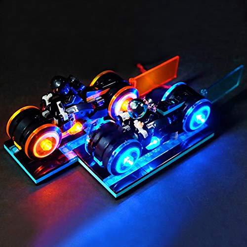 12che LED Light Kit für Lego Ideas TRON Legacy 21314 - Beinhaltet kein Lego Set -