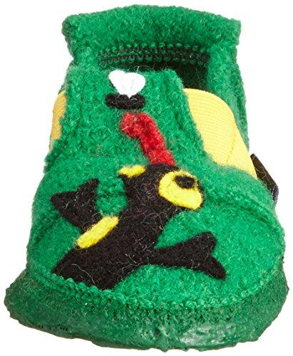 Nanga Salamander, Chaussons garçon Vert - Grün (Mittelgrün / 96)