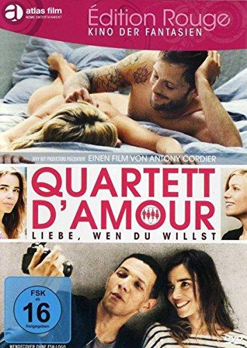 Bild von Quartett D'Amour - Liebe, wen du willst (Edition Rouge)