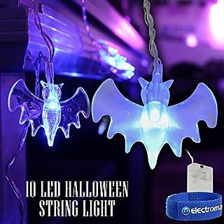 QTX light Halloween LED Battery String Fairy Lights Scary Vampire Bats Spooky Decoration