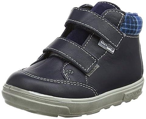 Ricosta Jungen Basti Hohe Sneaker, Blau (See), 25 EU