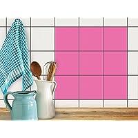 Rivestimento cucina stickers da muro | Adesivi per piastrelle autoadesivi - pavimenti interni - stickers (2 Pezzi Ottomana)