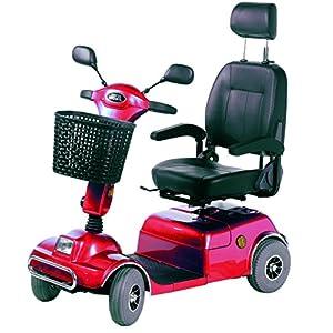 Elektrofahrzeug E-60 für Senioren | führerscheinfrei | Sitz schwenkbar | 6 km/h | 400 W Motor | 40 km Reichweite | e-Scooter – Elektromobil – Seniorenmobil