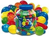 Riethmüller 9447 - 500 Luftballons, Figuren und Farben sortiert in Dose