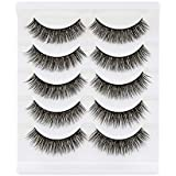 27b3ea79a12 Bepholan 3D Faux Mink Lashes Mink Eyelashes Strip Eyelashes False Eyelashes  Beauty Pack Hand Made Reusable
