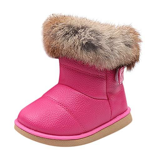 Beikoard Kinder Babyschuhe Mädchen Stiefel Mode Baby Warme -
