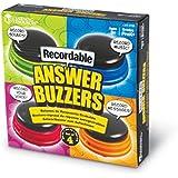 Learning Resources Buzzers Enregistrables - Jeu de 4