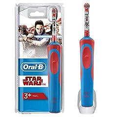 Idea Regalo - Oral-B Spazzolino Elettrico per Bambini Star Wars con Personaggi