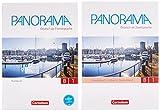 Panorama: B1: Gesamtband - Kursbuch und Übungsbuch DaZ: 120523-2 und 120525-6 im Paket