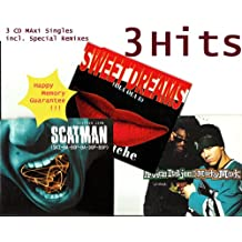 United / SCATMAN / SWEET DREAMS (3 CD Singles Compilation incl. Prince Ital Joe feat. Marky Mark, SCATMAN JOHN & LA BOUCHE - 12 Tracks) United Radio Version 4.02 / Extended Version 5.59 / SCATMAN basic radio 3.30 / jazz level 3.41 / game over jazz 5.03 / SWEET DREAMS club version 4.55 / house version 6.38 / u.a.