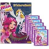 Panini - Mia and me 4 - Sammel-Stickerkollektion zur 3. Staffel - Sammelset Album + 5 Booster Tütchen - 25 Sticker
