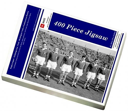 400 Piece Puzzle of Rugby League - Challenge Cup - Final - Workington Town v Featherstone (14000438)