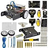 KEYESTUDIO Smart Auto DIY Kit Desktop schnurlos Bluetooth Smart Auto DIY Robot Kit für Arduino Starter