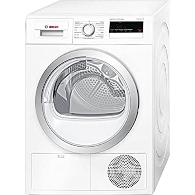 Bosch WTH85200GB 8kg Freestanding Sensor Heat Pump Condenser Tumble Dryer White