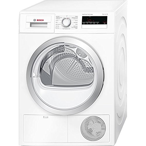 Bosch WTH85200GB 8kg Freestanding Sensor Heat Pump Condenser Tumble Dryer White
