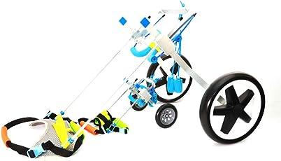 Justierbarer Hunde-Rollstuhl Für Hund (XXS/XS / S/L / M/XL) Hinterbein-Rehabilitation Leichtes Gewicht