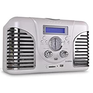 trevi tt 1060cd mini chaine r tro avec lecteur cd usb sd mp3 high tech. Black Bedroom Furniture Sets. Home Design Ideas