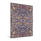 Premium Textil-Leinwand 60 cm x 90 cm hoch, Ein Motiv aus dem Kalender Moderne Steinbilder | Wandbild, Bild auf Keilrahmen, Fertigbild auf echter Leinwand, Leinwanddruck (CALVENDO Kunst)