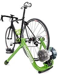 Máquina inteligente entrenador bici carretera cinética - verde