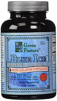 Green Pasture - Fermented Cod Liver Oil - 120 Orange Capsules