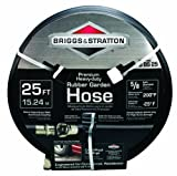 Best Briggs & Stratton Rubber Garden Hoses - Briggs and Stratton 8BS25 25-Feet Premium Heavy-Duty Rubber Review