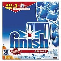 Reckitt Benckiser 81181 Dish Detergent Gel Packs& Orange& 60-Box
