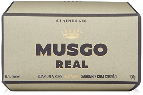 Claus Porto Musgo Real Men's Body Soap on a Rope - Oak Moss (190 g)
