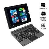 2-en-1 Tablet PC Portable 10.1 pouces IPS Ecran Tactile 1280X800 Résolution 2Go RAM/32Go ROM Windows 10 - AWOW SimpleBook Intel Atom Processeur et Avant 2.0MP/Arrière 5.0MP Caméra inclus Clavier