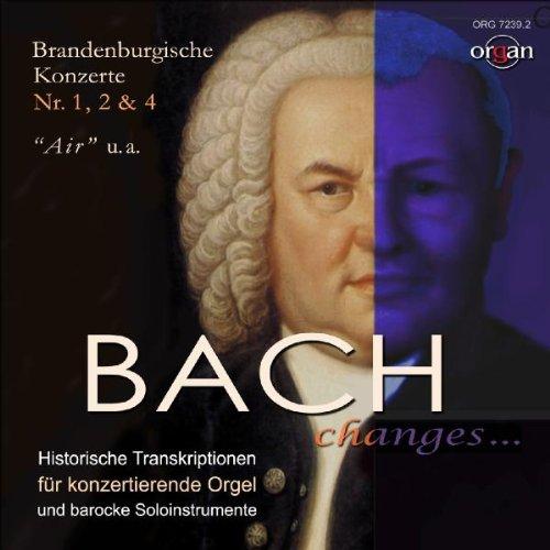 Preisvergleich Produktbild Brandenburgische Konzerte 1, 2 & 4 (HistorischeTranskriptionen)