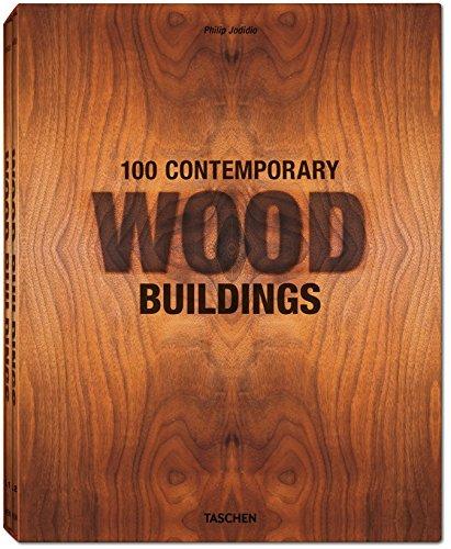 JU-100 contemporary wood buildings - Italien, Espagnol, Portugais - coffret 2 volumes -
