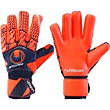 uhlsport Next Level ABSOLUTGRIP HN Torwart-Handschuhe, Marine/Fluo rot, 8.5