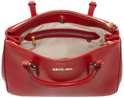 Kesslord - Borsa a mano, Donna Rosso (Rouge)