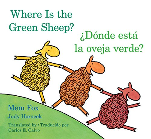 Donde Esta La Oveja Verde?/Where Is the Green Sheep? por Mem Fox