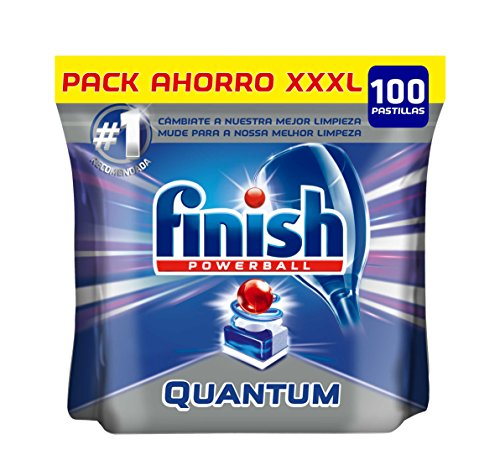 Finish Quantum Lemon Geschirrspülmaschinentabs Regulär 100 Pastillas