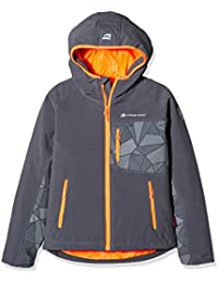 Alpine Pro Chaqueta Soft Shell Takho Ins. Gris Oscuro 10-11 años (140/146 cm)