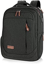 KROSER Laptop Backpack Large Computer Backpack Fits up to 17.3 Inch Laptop with USB Charging Port Water-Repell