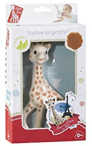 Sophie The Giraffe in Fresh Touch Gift Box from Vulli