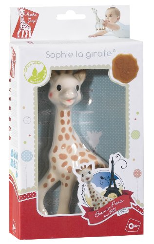 Image of Sophie The Giraffe in Fresh Touch Gift Box