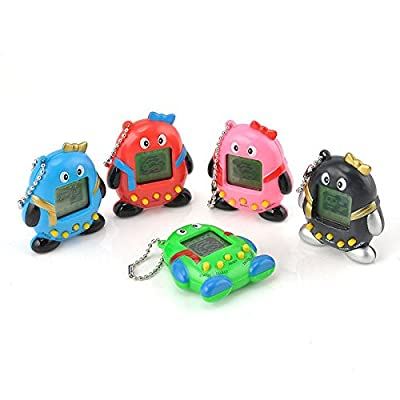 Nostalgic 90s Tiny Virtual Game 168 Pets in 1 Cyber Pet Toy Funny Like Tamagotchi