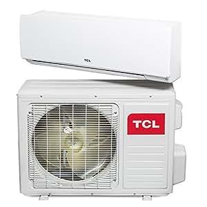 tcl inverter klimager t 2 6 kw 9000 btu a a split klimaanlage klima anlage heizung. Black Bedroom Furniture Sets. Home Design Ideas