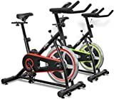 JLL® IC200 Indoor Cycling exercise bike, Fitness Cardio workout with adjustable resistance,10Kg flywheel which allows a smooth ride, Ergonomic adjustable handle bar and fully adjustable seat. 12 months warranty